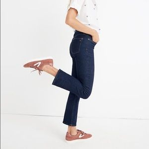 NWT Madewell Cali Demi-Boot Jean Lucille Wash Tall
